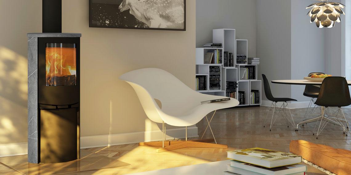 po le bois scandinave lotus 9230 pierre ollaire. Black Bedroom Furniture Sets. Home Design Ideas