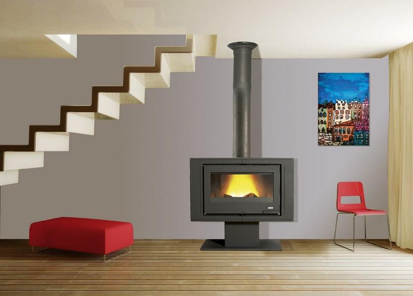 po le bois godin mouriez pas cher achetez votre po le bois godin. Black Bedroom Furniture Sets. Home Design Ideas