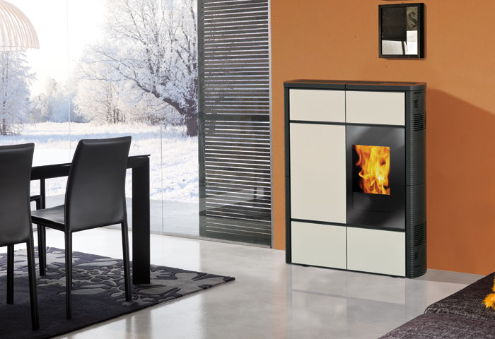 poele a pellet hydro edilkamin. Black Bedroom Furniture Sets. Home Design Ideas