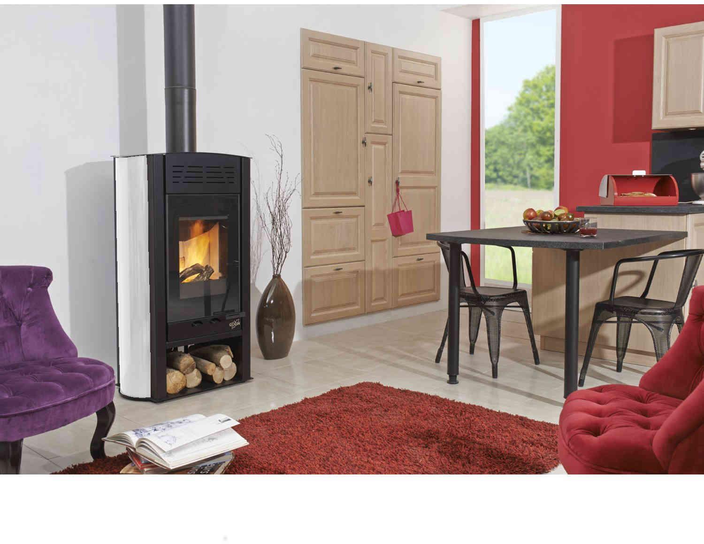 poele bois tanche godin styldesign. Black Bedroom Furniture Sets. Home Design Ideas